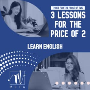 3 lessons for the price of 2